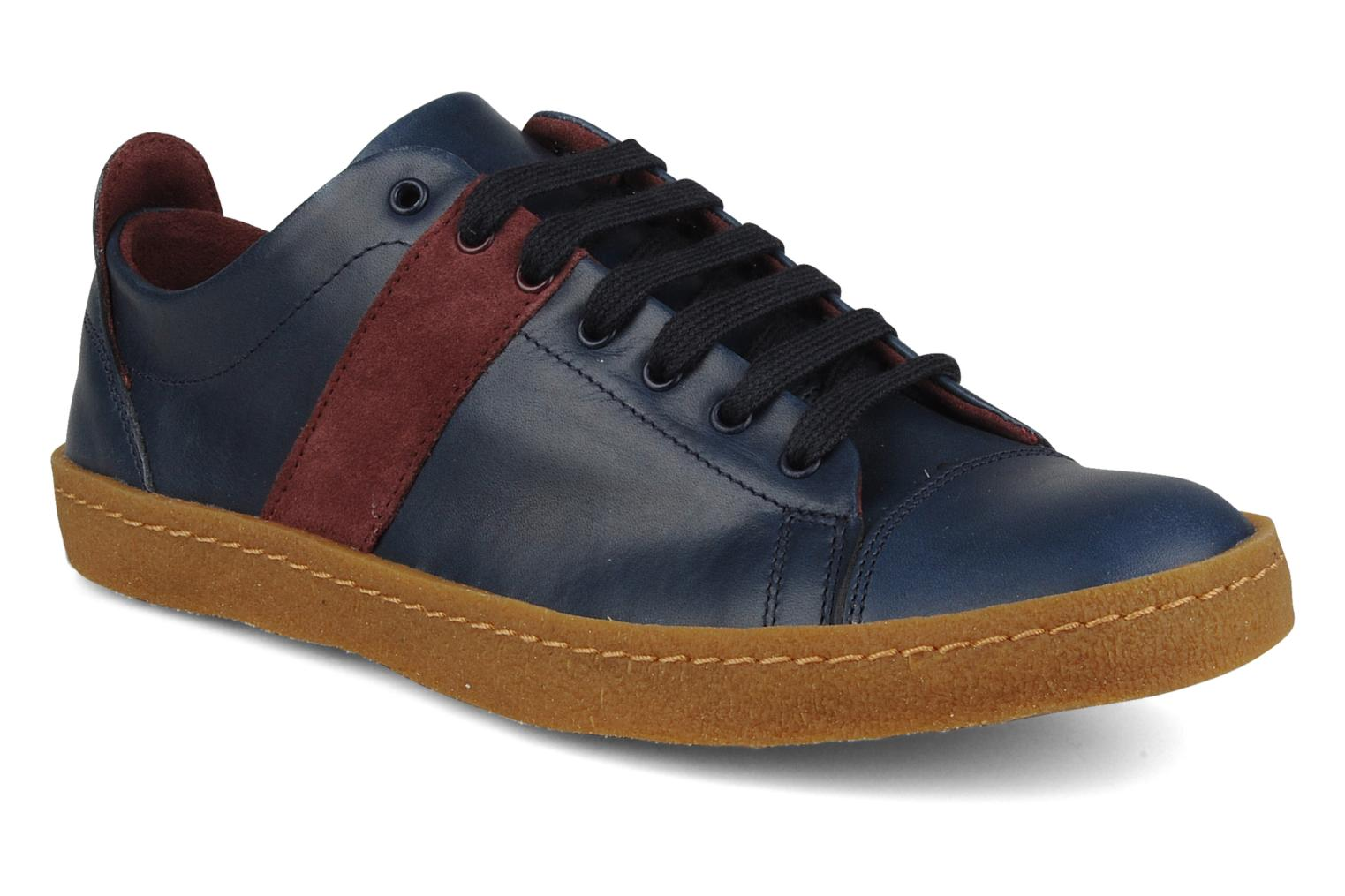 Sneakers Bensimon Tennis harrys cuir F Blauw detail