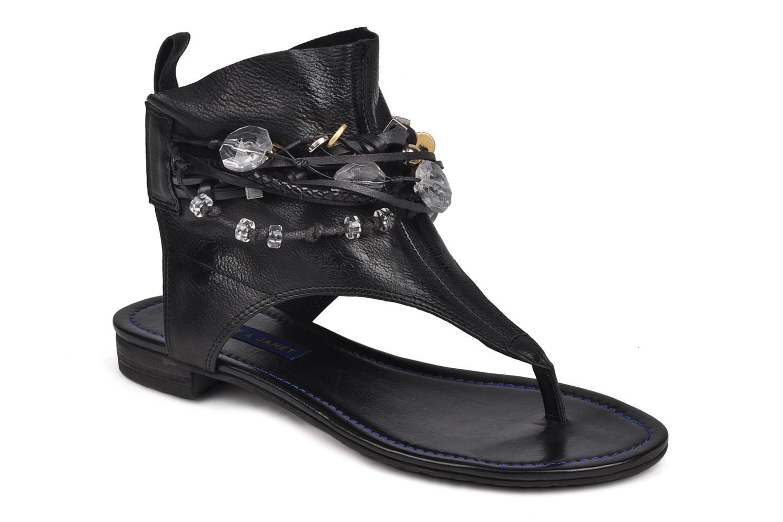 Sandales et nu-pieds Janet & Janet Follini Noir vue détail/paire