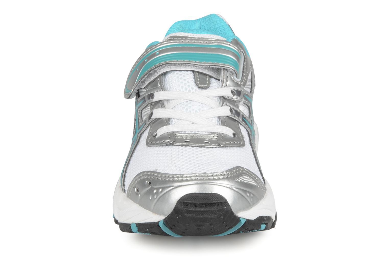 Sportschuhe Asics Pre galaxy 4 ps weiß schuhe getragen