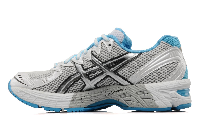 Chaussures de sport Asics Lady gel virage 6 Blanc vue face
