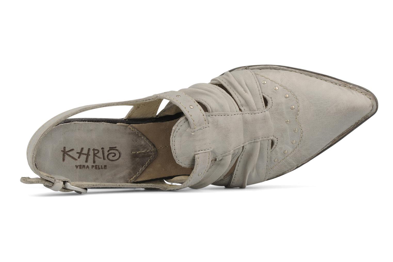 Sandales et nu-pieds Khrio Siane Gris vue gauche