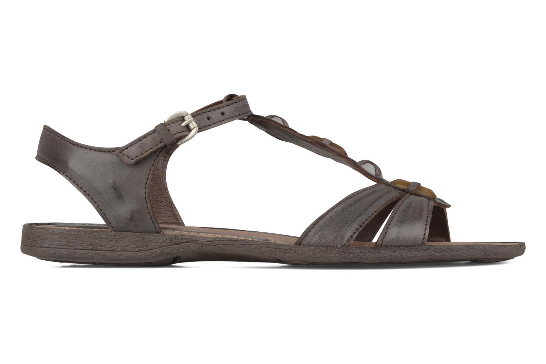 Sandales et nu-pieds Khrio Shelby Marron vue derrière