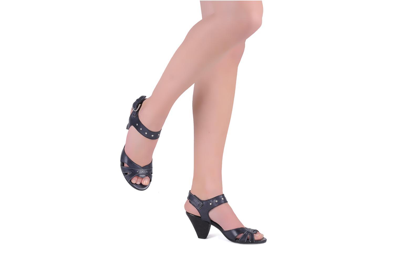 Sandales et nu-pieds Khrio Cherley Noir vue bas / vue portée sac