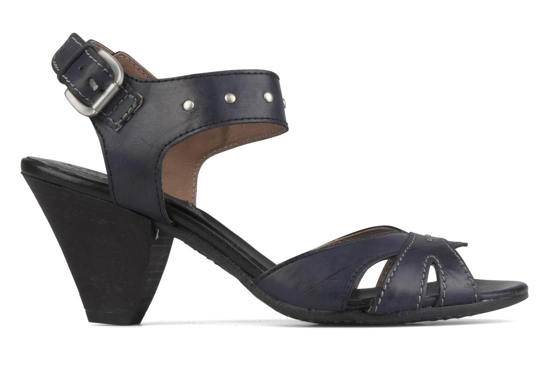 Sandales et nu-pieds Khrio Cherley Noir vue derrière