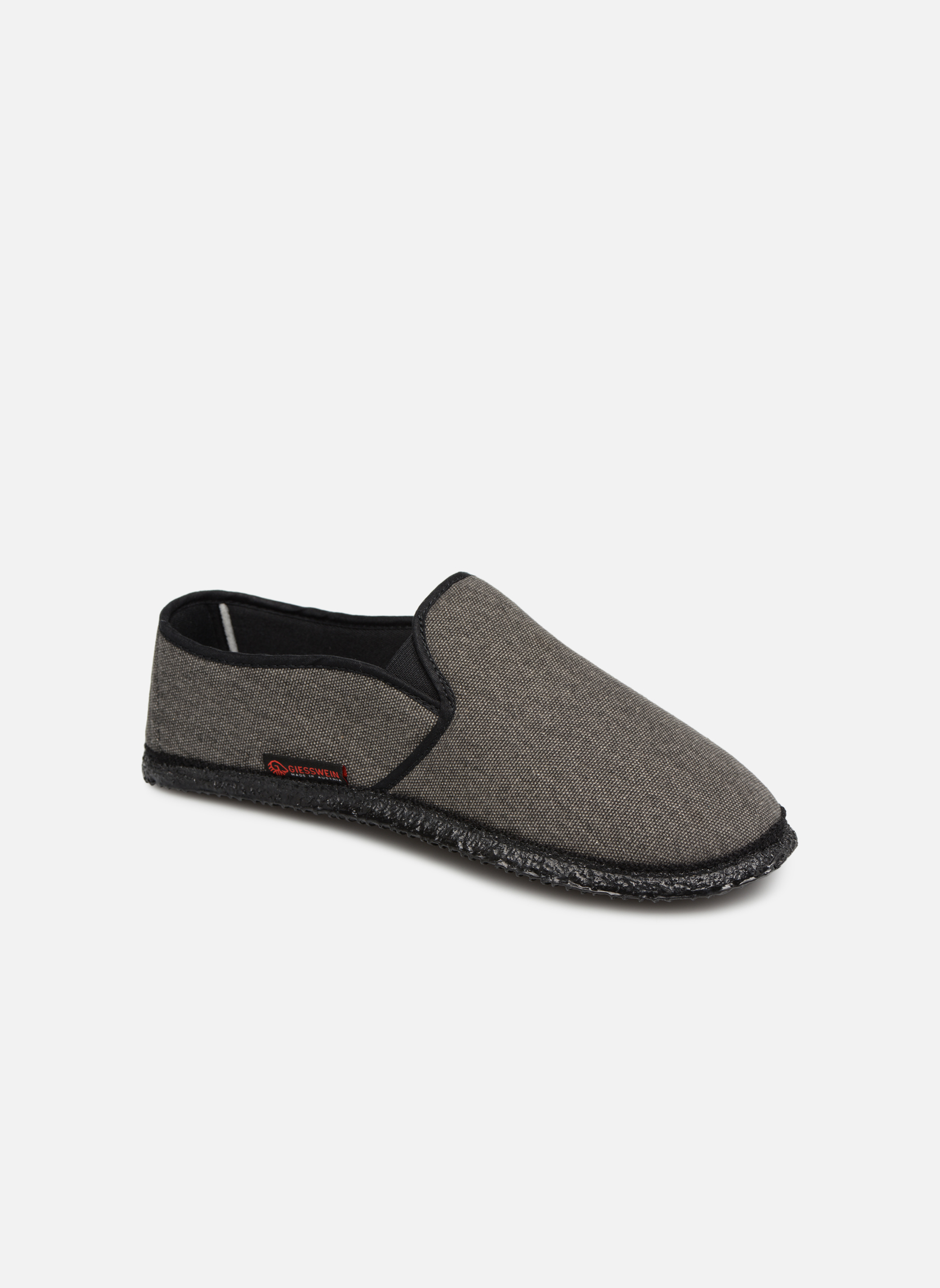 Slippers Giesswein Berlin Grey detailed view/ Pair view
