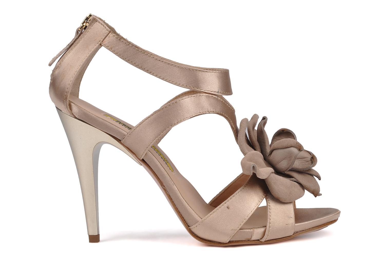 Sandales et nu-pieds Manas Floralia Rose vue derrière