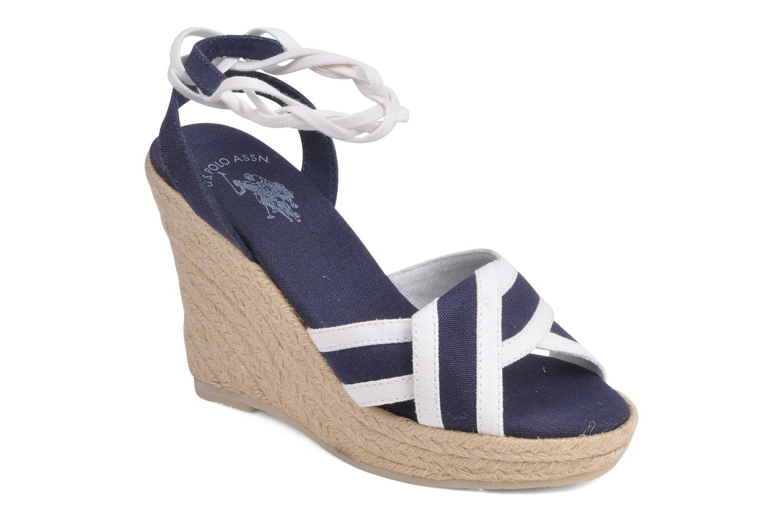 Sandales et nu-pieds U.S Polo Assn. Alena 4175s1 Bleu vue détail/paire
