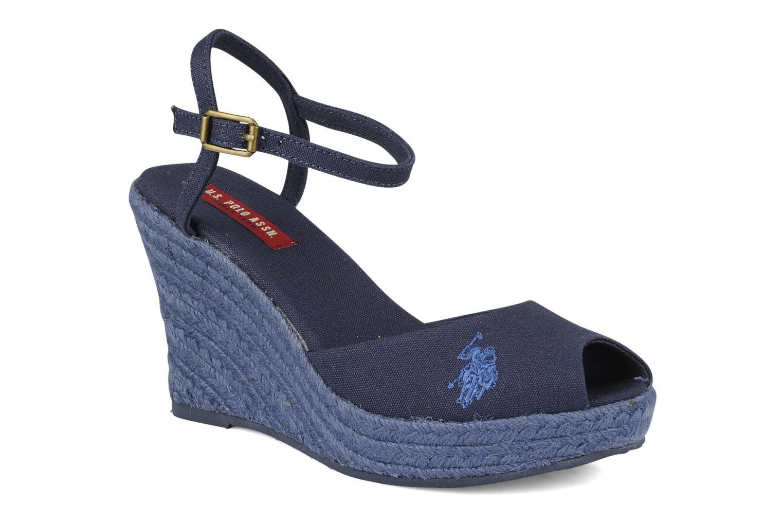 Sandales et nu-pieds U.S Polo Assn. Alena 4103s1 Bleu vue détail/paire