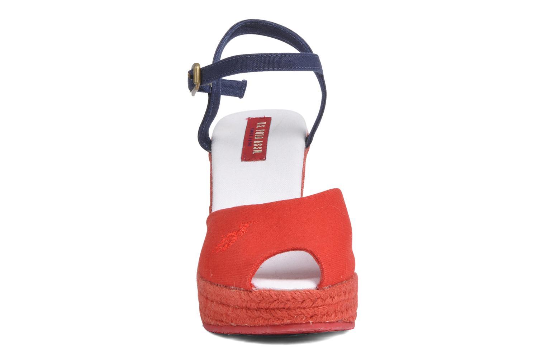 Sandales et nu-pieds U.S Polo Assn. Alena 4103s1 Rouge vue portées chaussures