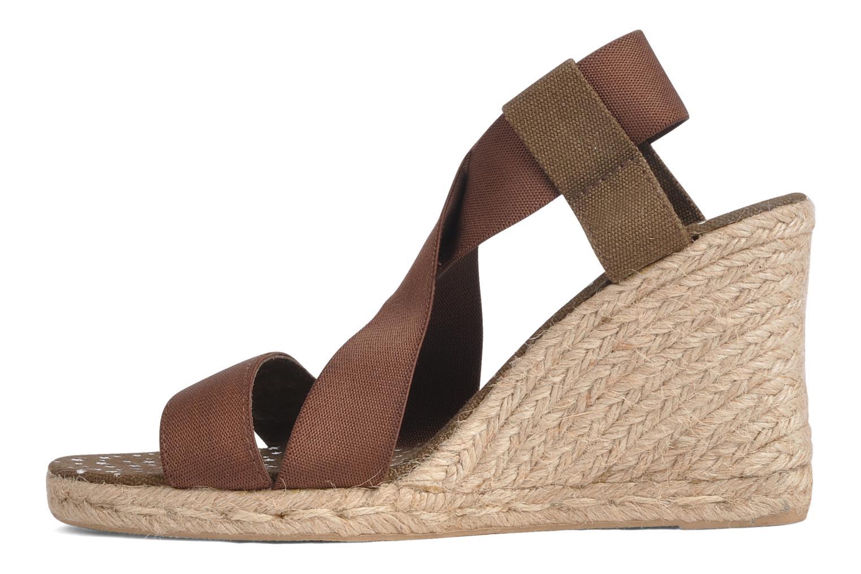 Sandales et nu-pieds U.S Polo Assn. Naomi 4163s1 Marron vue face