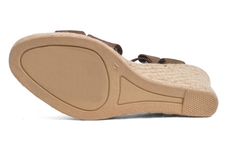 Sandali e scarpe aperte U.S Polo Assn. Naomi 4163s1 Marrone immagine dall'alto