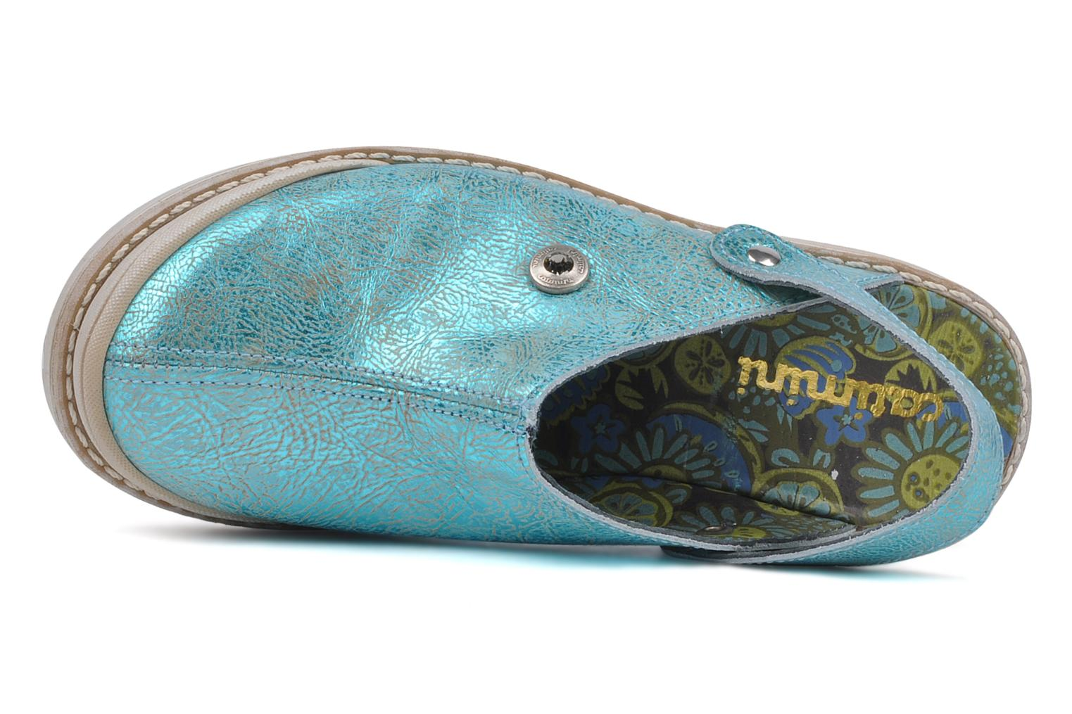 Sandals Catimini Claire Blue view from the left