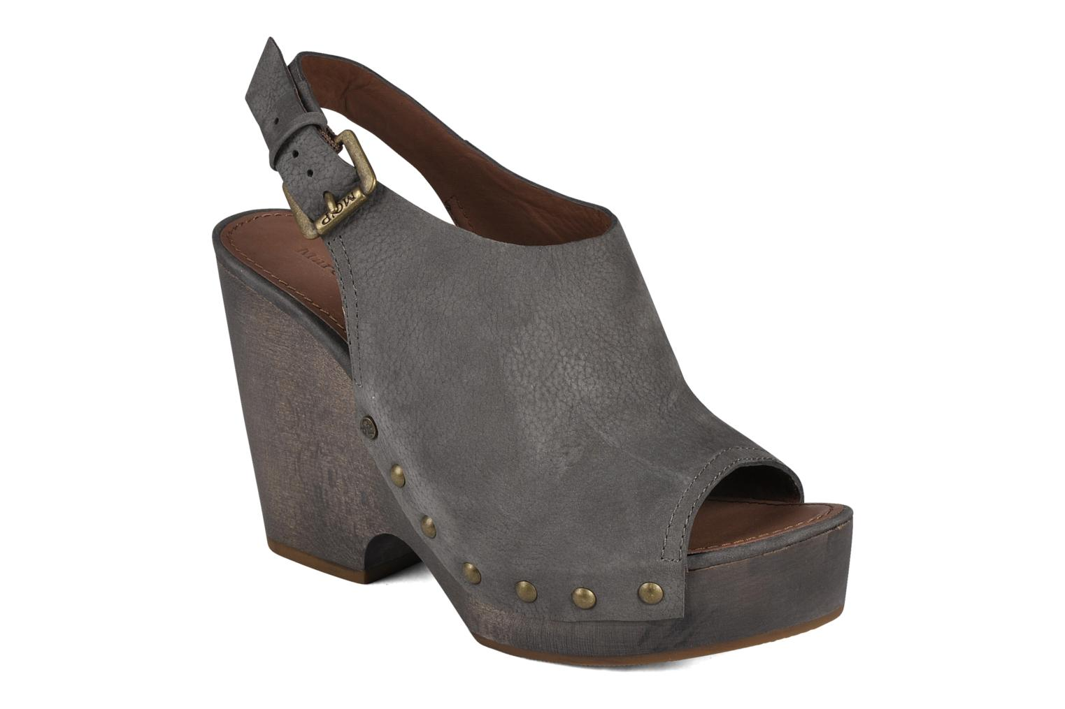 Wedges Marc O'Polo Tracy Grijs detail