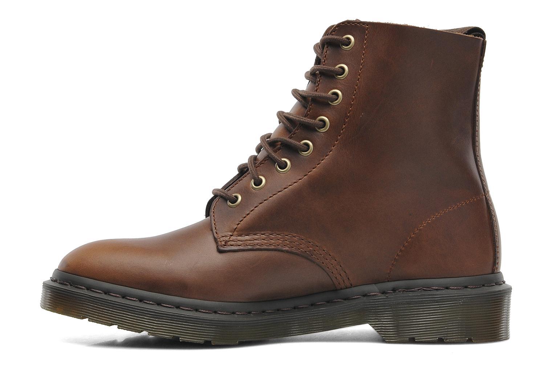Boots en enkellaarsjes Dr. Martens PASCAL M Bruin voorkant