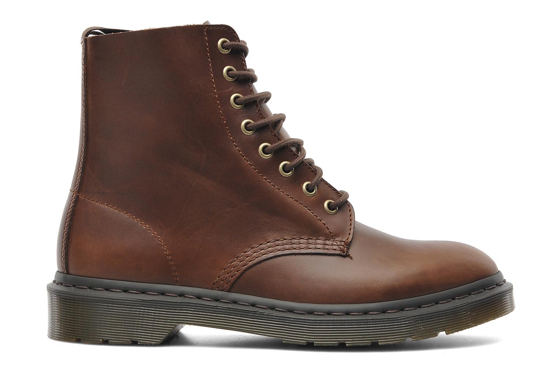 Boots en enkellaarsjes Dr. Martens PASCAL M Bruin achterkant