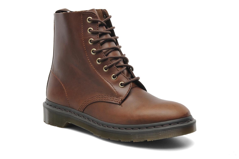 Boots en enkellaarsjes Dr. Martens PASCAL M Bruin detail