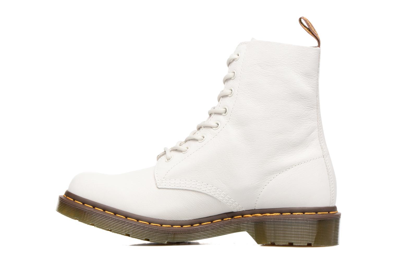 Bottines et boots Dr. Martens PASCAL M Blanc vue face