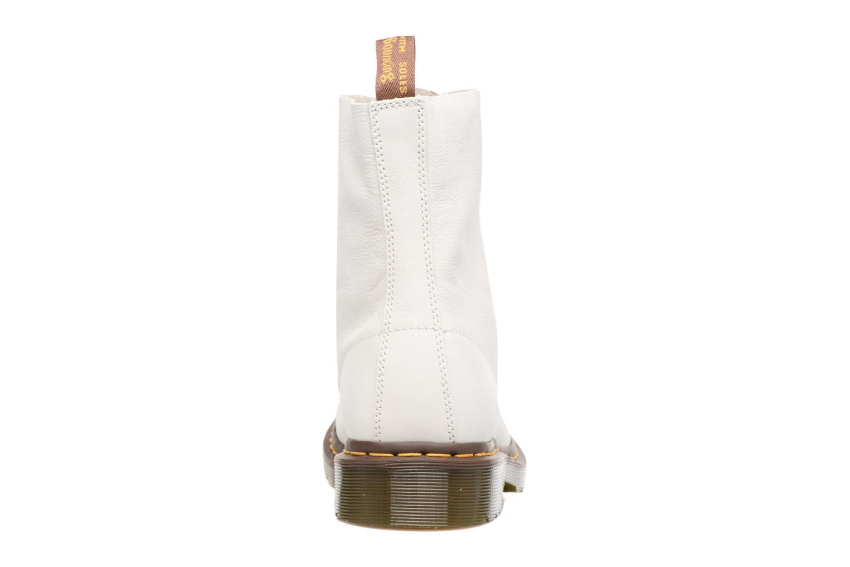 Bottines et boots Dr. Martens PASCAL M Blanc vue droite
