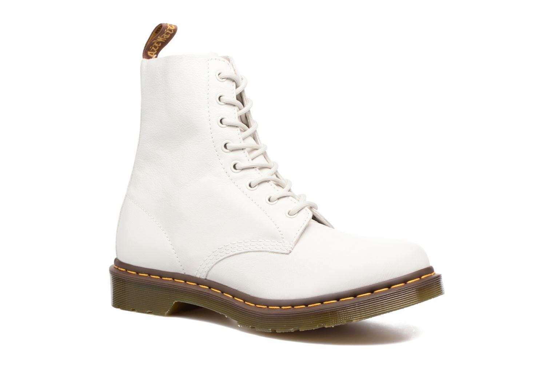 Bottines et boots Dr. Martens PASCAL M Blanc vue détail/paire