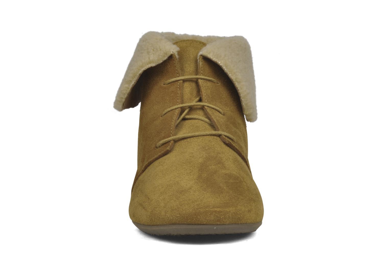 Bottines et boots Jonak Moumi Marron vue portées chaussures