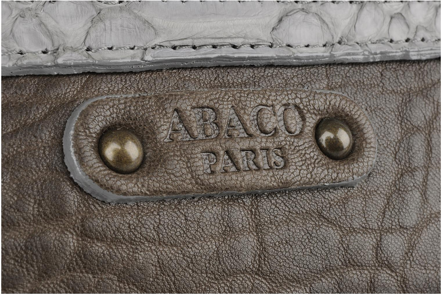 Clutch bags Abaco Charmy Grey view from the left