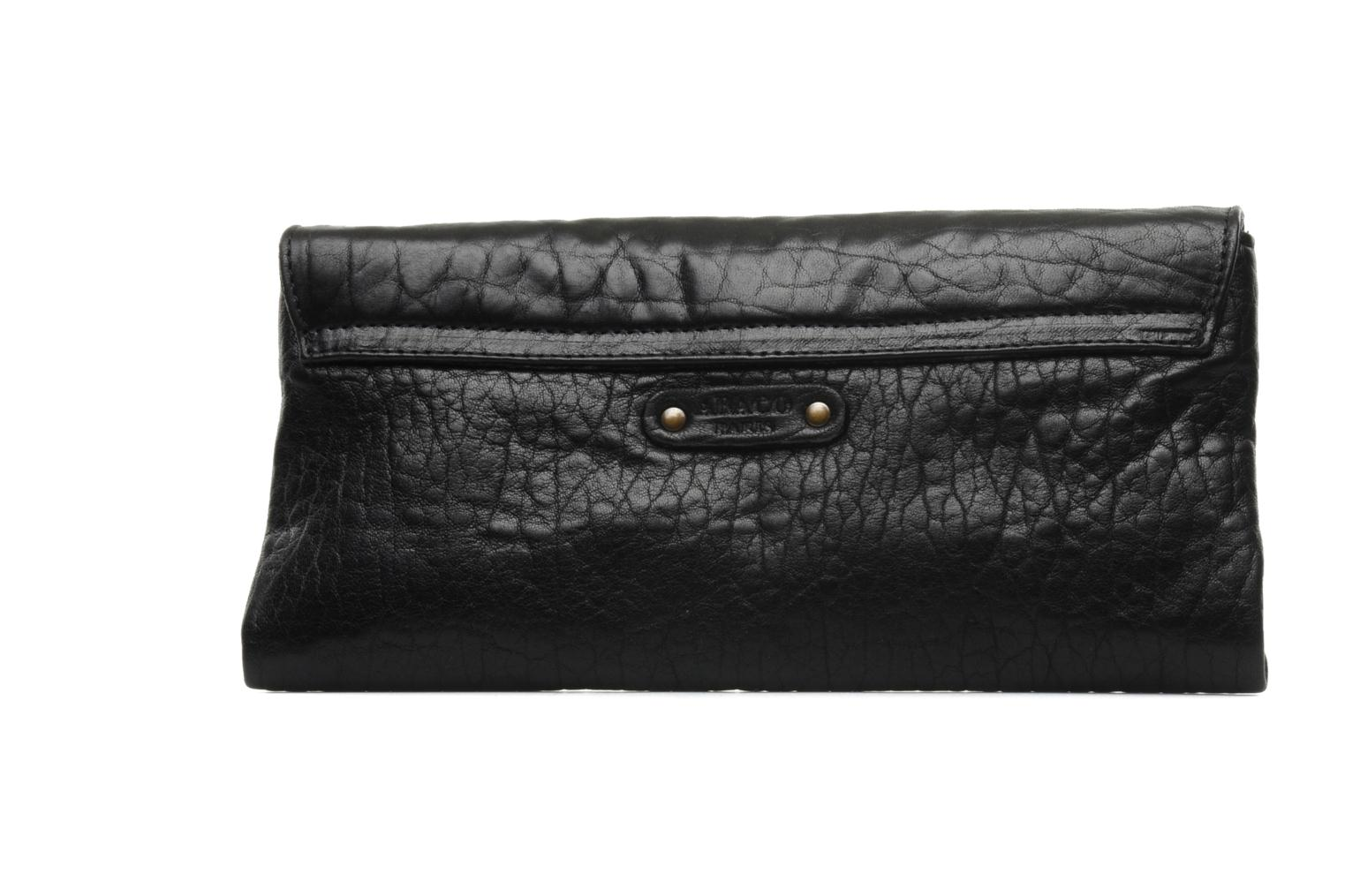 Clutch bags Abaco Gala Black front view