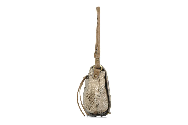 Handtaschen Abaco Beauty beige ansicht von rechts
