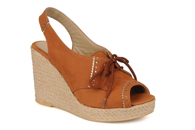 Sandaler Pare Gabia Climone Brun detaljeret billede af skoene