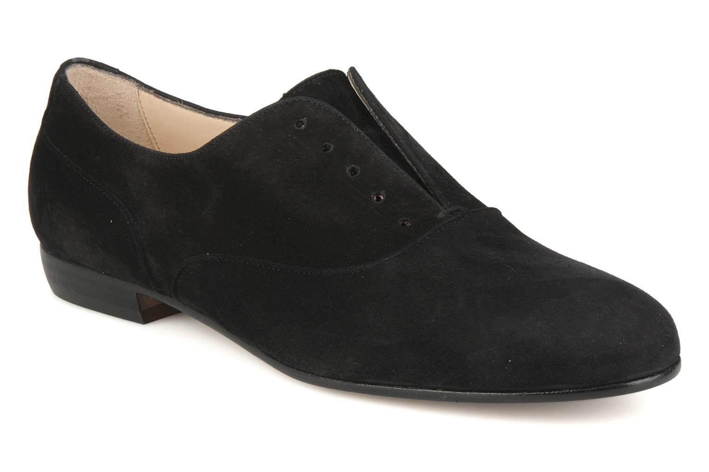 Chaussures à lacets Georgia Rose Saïan Noir vue détail/paire