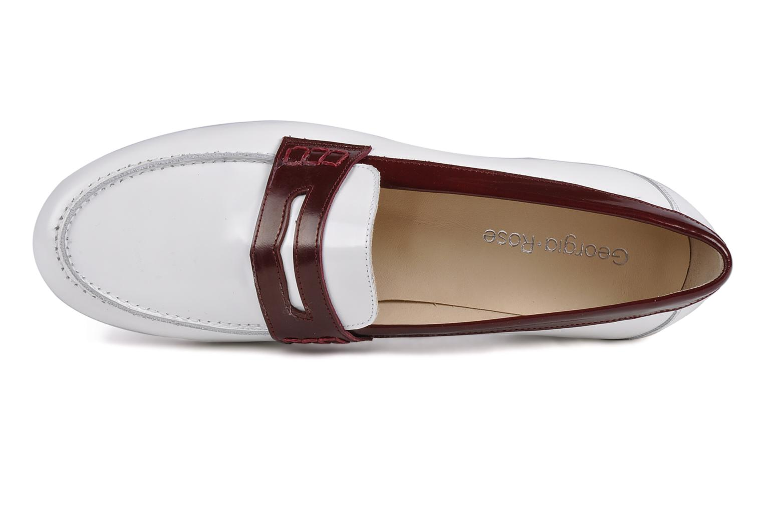 Loafers Georgia Rose Massaï White view from the left