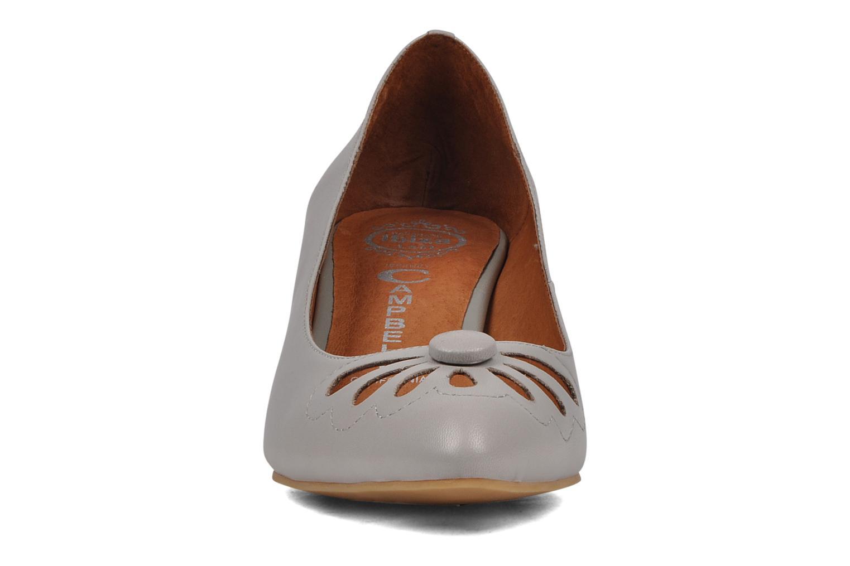 Escarpins Jeffrey Campbell Glory days Gris vue portées chaussures