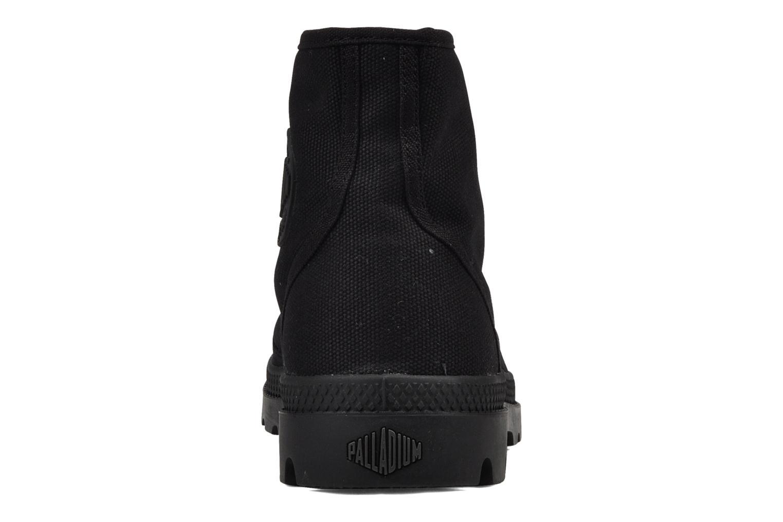 Bottines et boots Palladium Us pampa hi m Noir vue droite