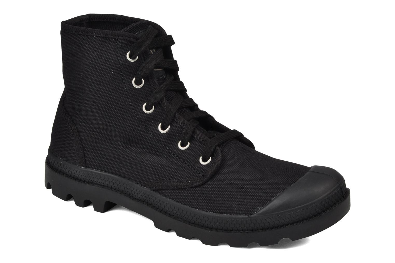 Bottines et boots Palladium Us pampa hi m Noir vue détail/paire
