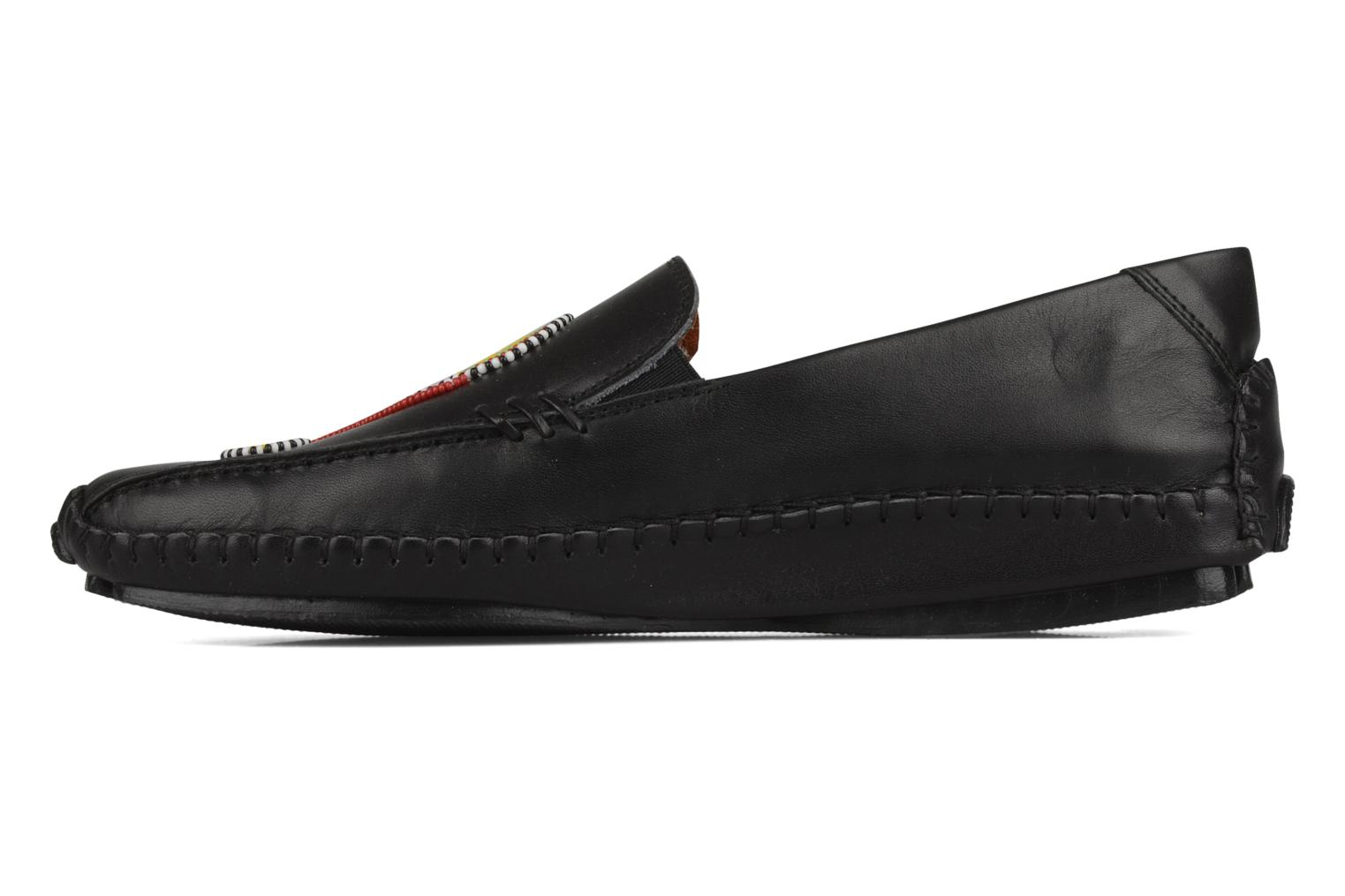 Loafers Pikolinos Jerez 8242 Black front view