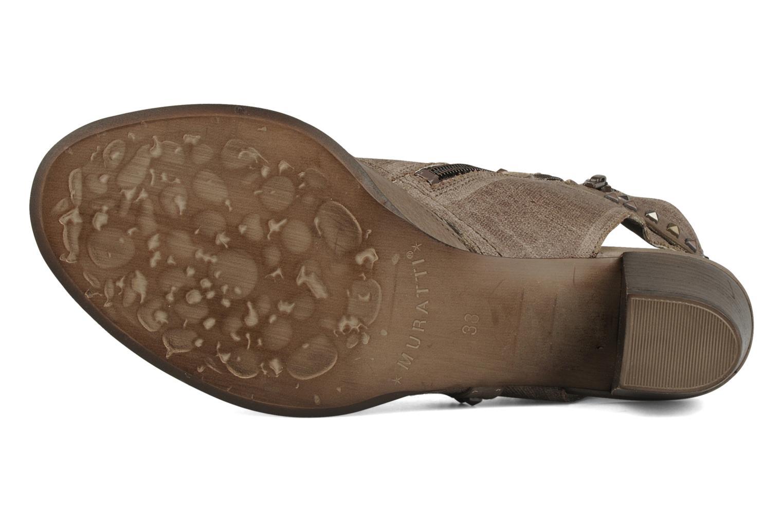 Sandales et nu-pieds Muratti Bergen Marron vue haut
