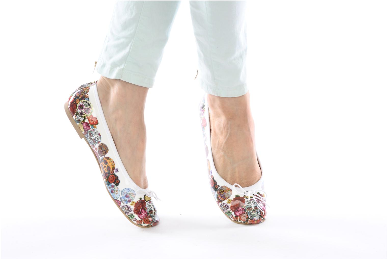 Ballet pumps Coco et abricot Donalia Multicolor view from underneath / model view