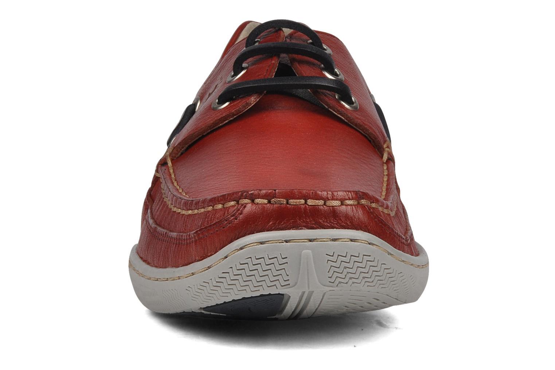 Zapatos con cordones Fluchos Desafio 7175 Rojo vista del modelo