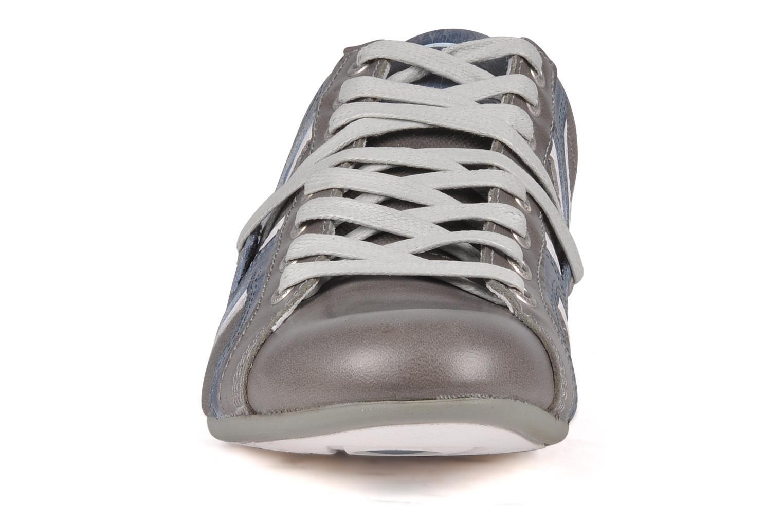 Baskets Redskins Truani Gris vue portées chaussures