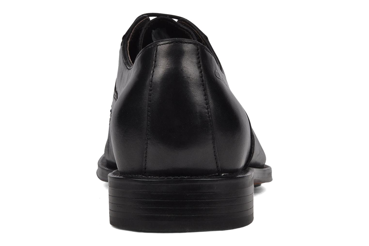 Lace-up shoes Clarks Dino tube Black view from the right