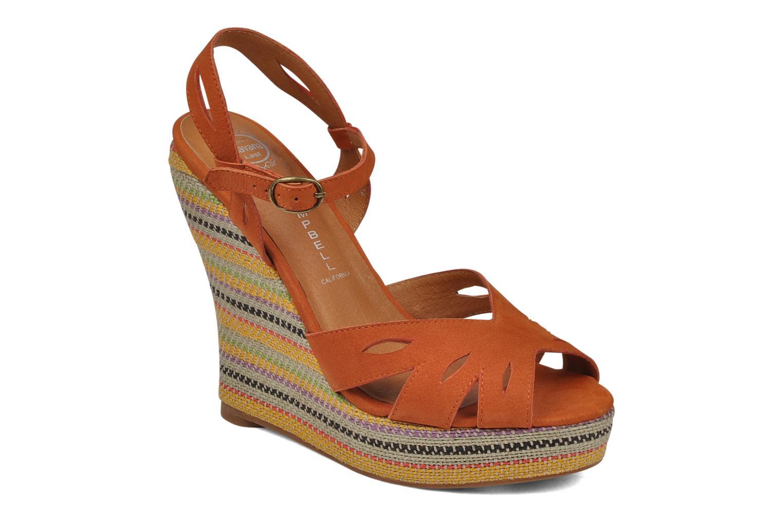 Sandales et nu-pieds Jeffrey Campbell Peaches Marron vue détail/paire