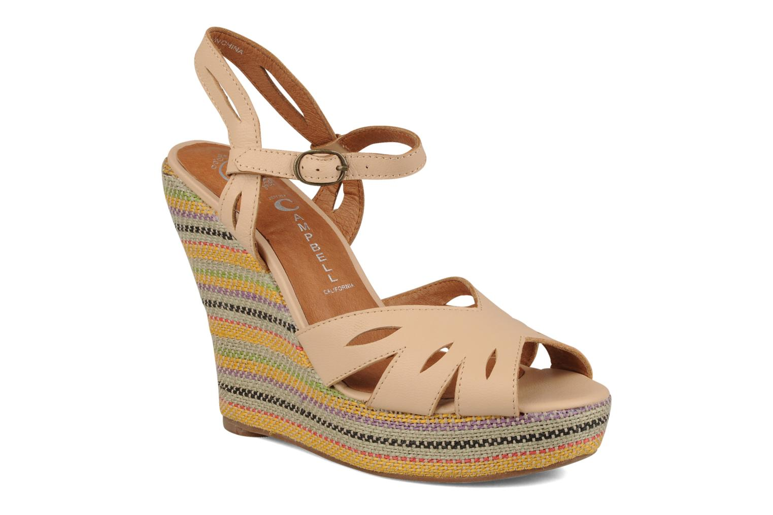 Sandalen Jeffrey Campbell Peaches Beige detail