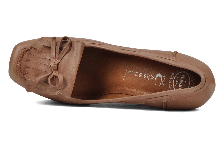 Alison Nude leather