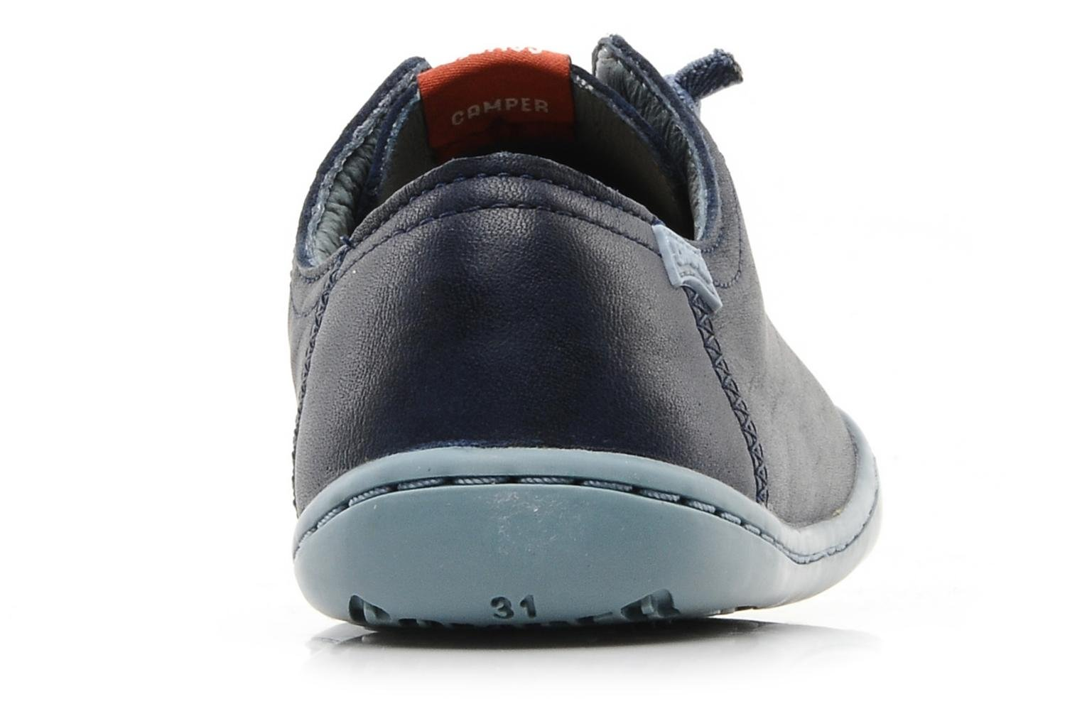 Trainers Camper Peu cami 80003 Blue view from the right