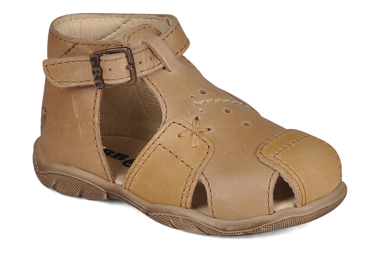 Sandales et nu-pieds GBB Lionel Beige vue détail/paire
