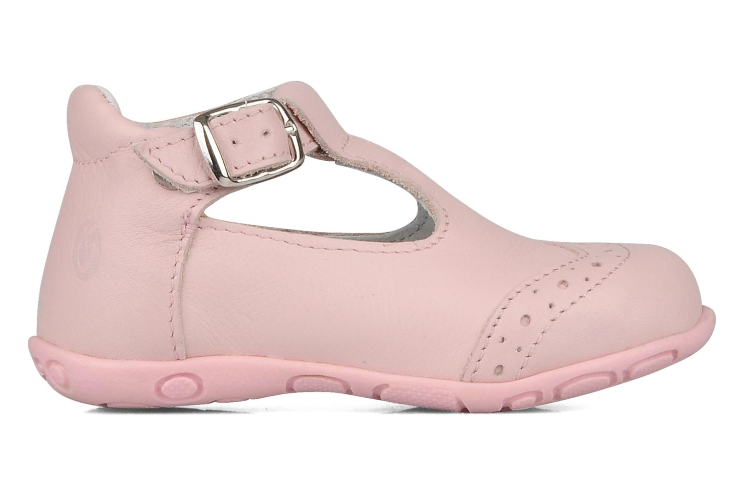 Ankle boots GBB Lea Pink back view