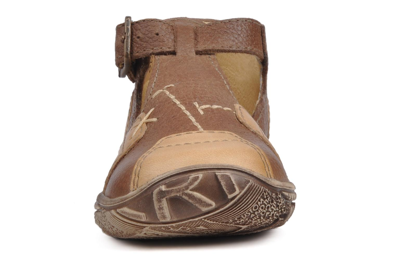 Bottines et boots GBB Loic Marron vue portées chaussures
