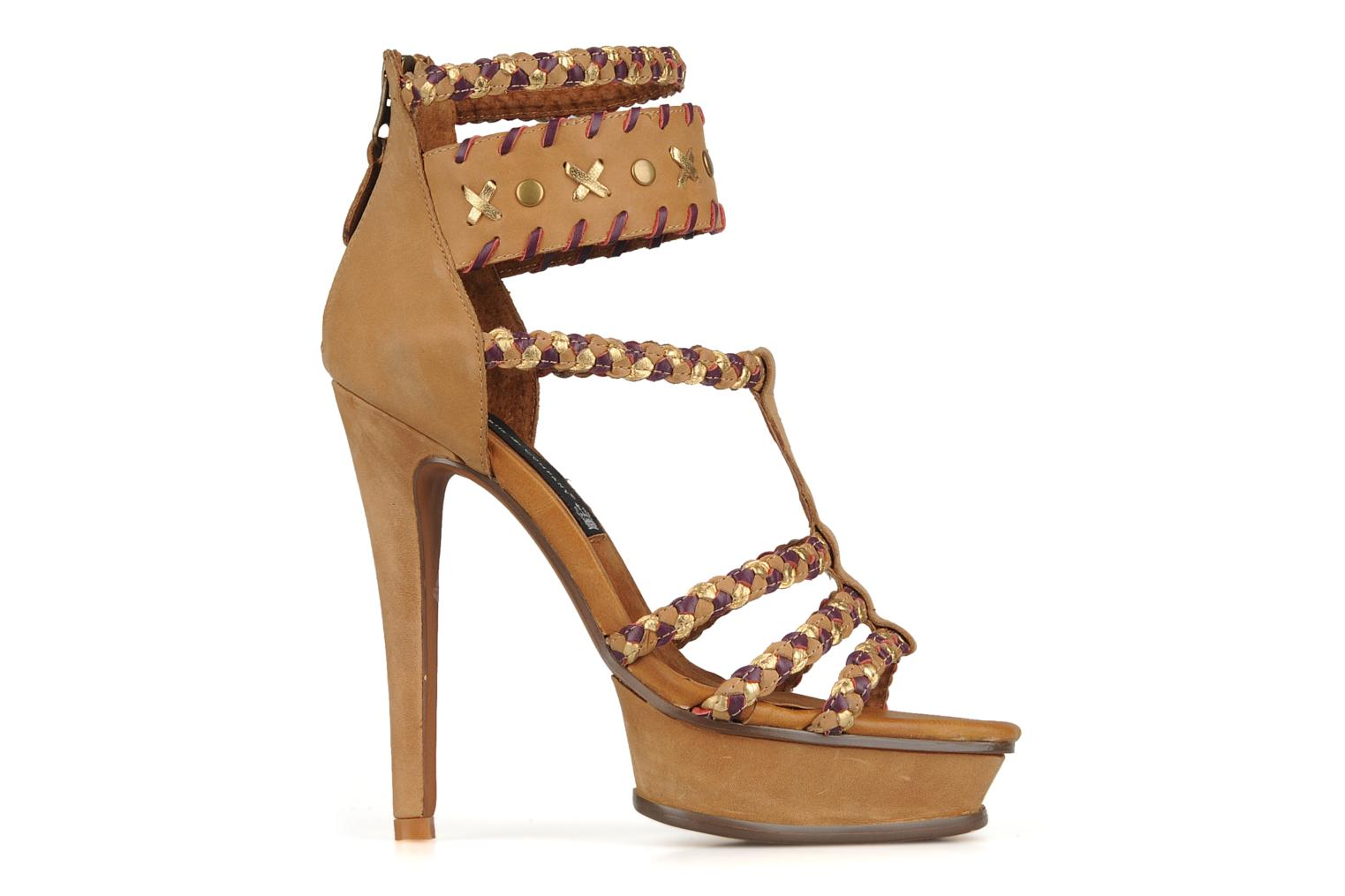 Sandals Friis & company Vaike Beige back view