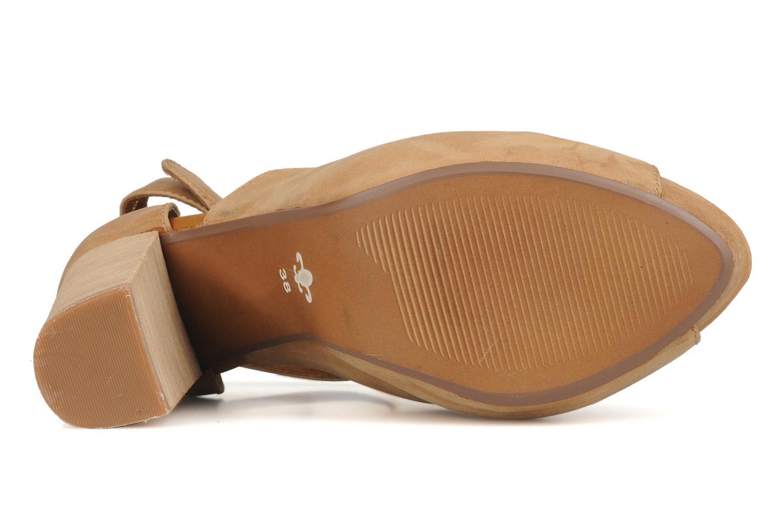 Sandali e scarpe aperte Friis & company Valerie Beige immagine dall'alto