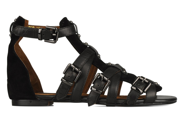 Sandales et nu-pieds Friis & company Varinka Noir vue derrière