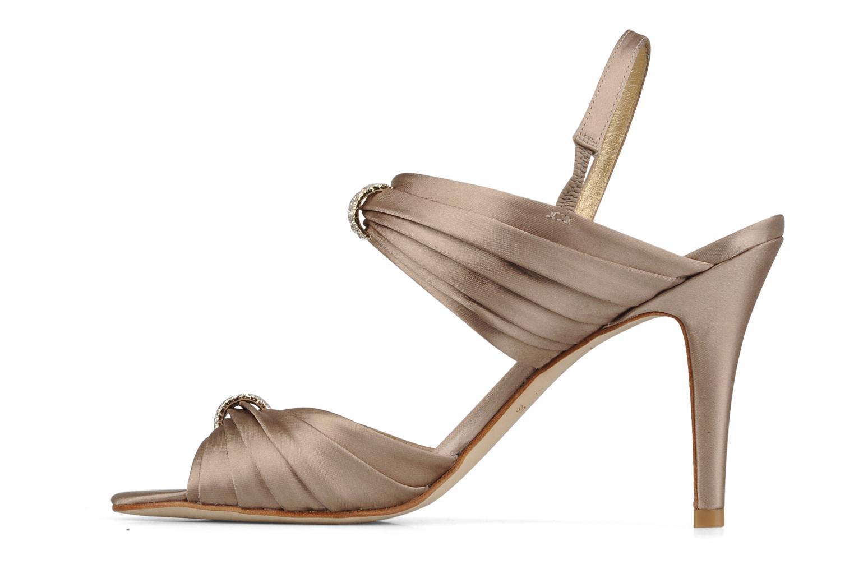 Sandales et nu-pieds Miezko Rebecca Beige vue face